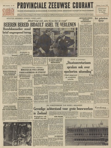Provinciale Zeeuwse Courant 1963-03-12