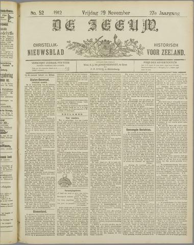 De Zeeuw. Christelijk-historisch nieuwsblad voor Zeeland 1912-11-29