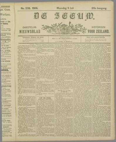 De Zeeuw. Christelijk-historisch nieuwsblad voor Zeeland 1906-07-09