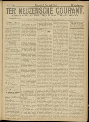 Ter Neuzensche Courant. Algemeen Nieuws- en Advertentieblad voor Zeeuwsch-Vlaanderen / Neuzensche Courant ... (idem) / (Algemeen) nieuws en advertentieblad voor Zeeuwsch-Vlaanderen 1926-02-01
