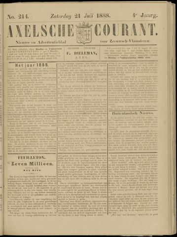 Axelsche Courant 1888-07-21