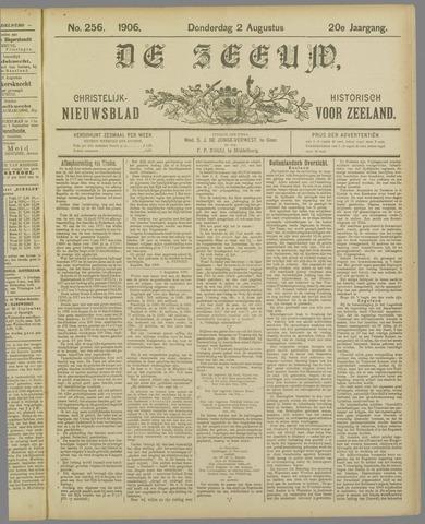 De Zeeuw. Christelijk-historisch nieuwsblad voor Zeeland 1906-08-02