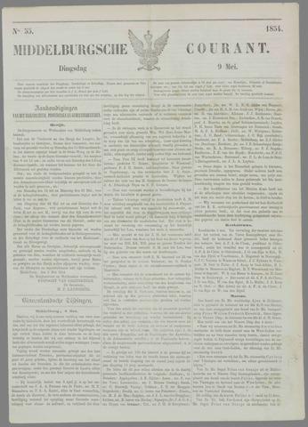 Middelburgsche Courant 1854-05-09