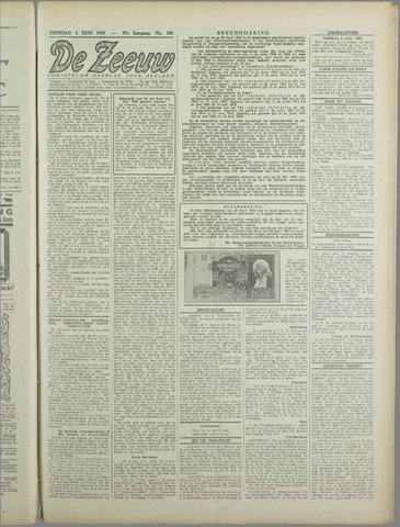 De Zeeuw. Christelijk-historisch nieuwsblad voor Zeeland 1943-06-03