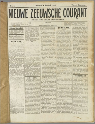 Nieuwe Zeeuwsche Courant 1906