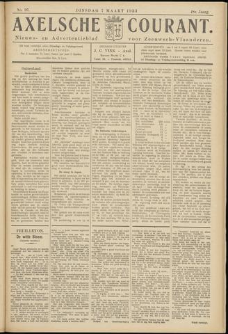 Axelsche Courant 1933-03-07