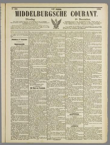 Middelburgsche Courant 1906-12-18