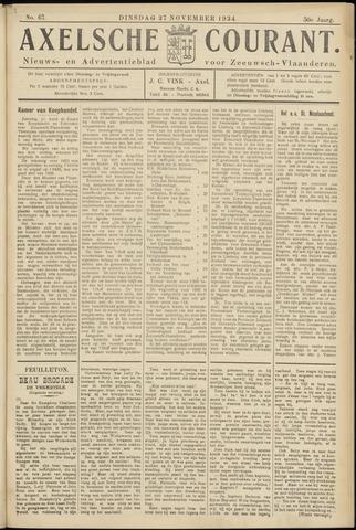 Axelsche Courant 1934-11-27