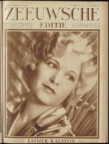 Ons Zeeland / Zeeuwsche editie 1930-01-24