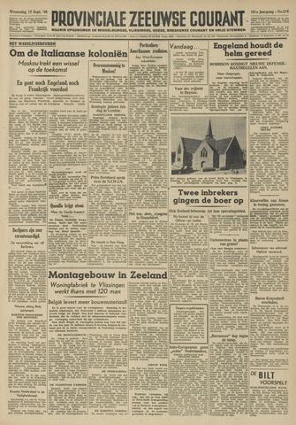 Provinciale Zeeuwse Courant 1948-09-15