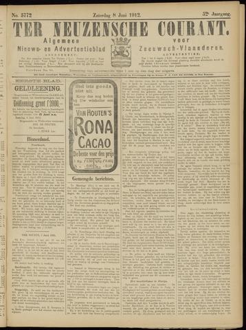 Ter Neuzensche Courant. Algemeen Nieuws- en Advertentieblad voor Zeeuwsch-Vlaanderen / Neuzensche Courant ... (idem) / (Algemeen) nieuws en advertentieblad voor Zeeuwsch-Vlaanderen 1912-06-08