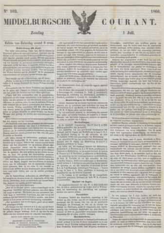Middelburgsche Courant 1866-07-01