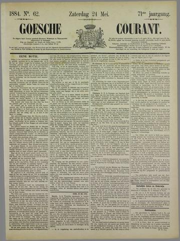 Goessche Courant 1884-05-24