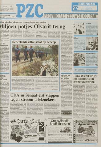 Provinciale Zeeuwse Courant 1993-11-17