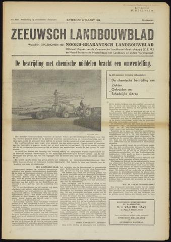 Zeeuwsch landbouwblad ... ZLM land- en tuinbouwblad 1954-03-27