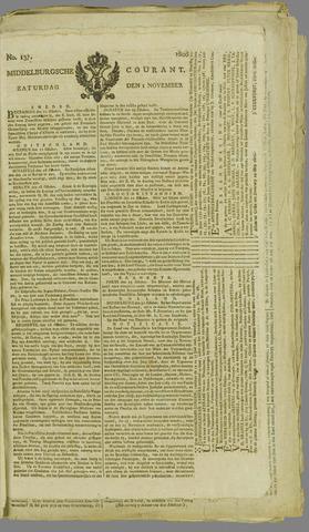 Middelburgsche Courant 1806-11-01
