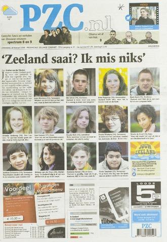 Provinciale Zeeuwse Courant 2009-02-28