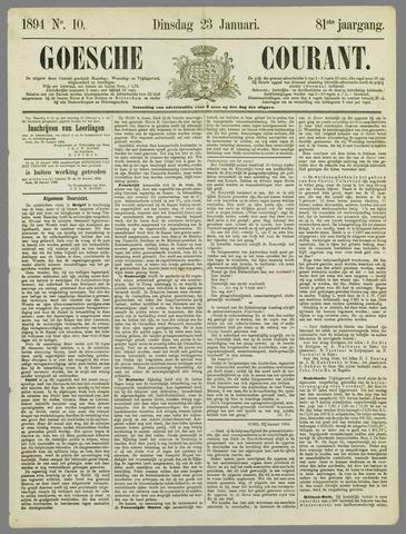 Goessche Courant 1894-01-23
