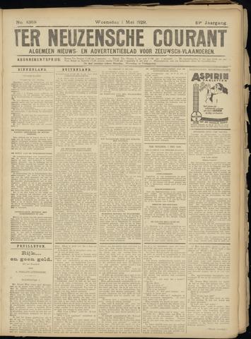 Ter Neuzensche Courant. Algemeen Nieuws- en Advertentieblad voor Zeeuwsch-Vlaanderen / Neuzensche Courant ... (idem) / (Algemeen) nieuws en advertentieblad voor Zeeuwsch-Vlaanderen 1929-05-01