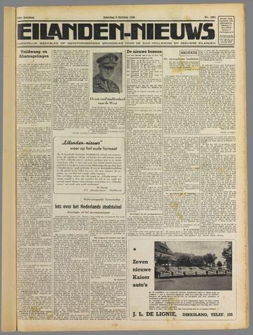Eilanden-nieuws. Christelijk streekblad op gereformeerde grondslag 1949-10-08