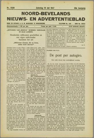 Noord-Bevelands Nieuws- en advertentieblad 1947-07-19