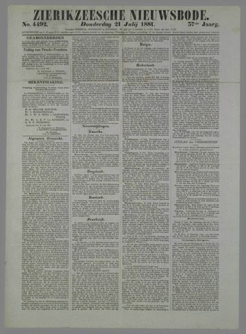 Zierikzeesche Nieuwsbode 1881-07-21