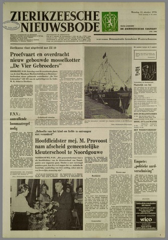 Zierikzeesche Nieuwsbode 1976-10-11
