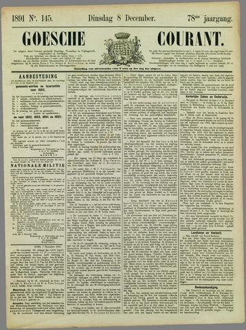Goessche Courant 1891-12-08