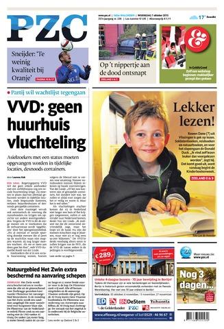 Provinciale Zeeuwse Courant 2015-10-07