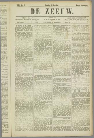 De Zeeuw. Christelijk-historisch nieuwsblad voor Zeeland 1891-10-13