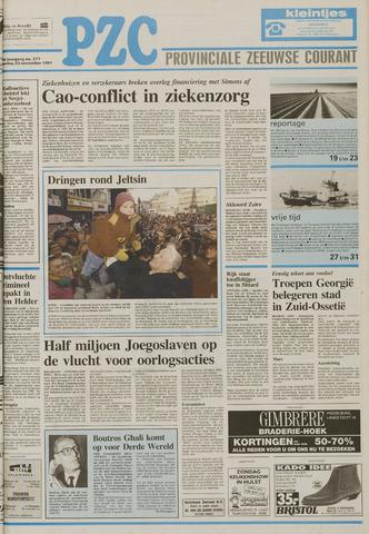 Provinciale Zeeuwse Courant 1991-11-23