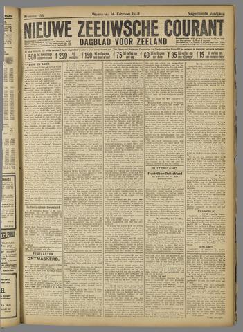 Nieuwe Zeeuwsche Courant 1923-02-14