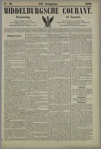 Middelburgsche Courant 1888-01-19