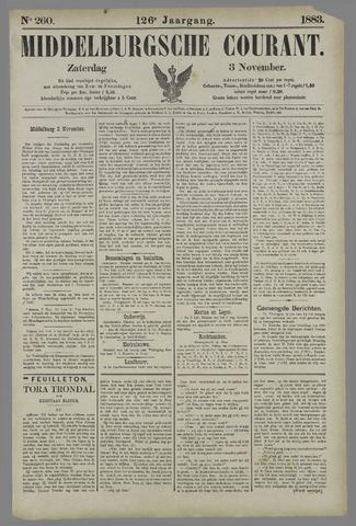 Middelburgsche Courant 1883-11-03