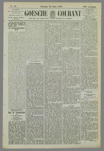 Goessche Courant 1919-06-24