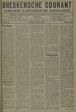 Breskensche Courant 1922-08-23