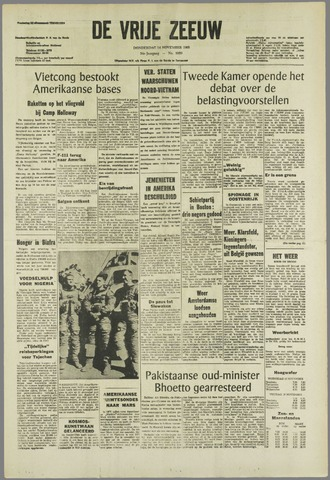 de Vrije Zeeuw 1968-11-14