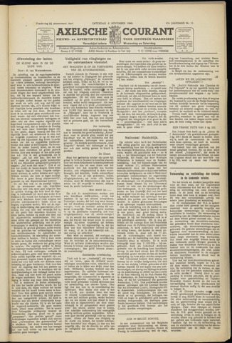 Axelsche Courant 1948-11-06