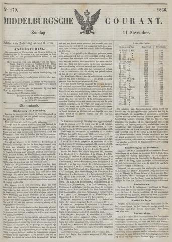 Middelburgsche Courant 1866-11-11