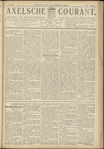 Axelsche Courant 1938-11-18