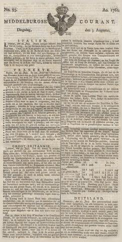 Middelburgsche Courant 1762-08-03