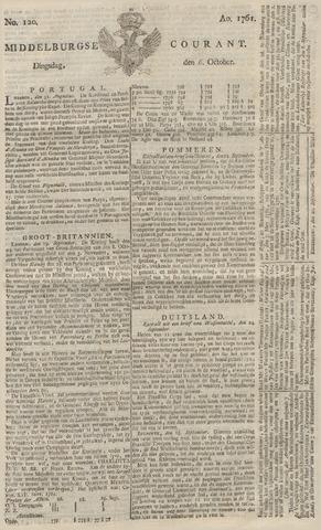 Middelburgsche Courant 1761-10-06