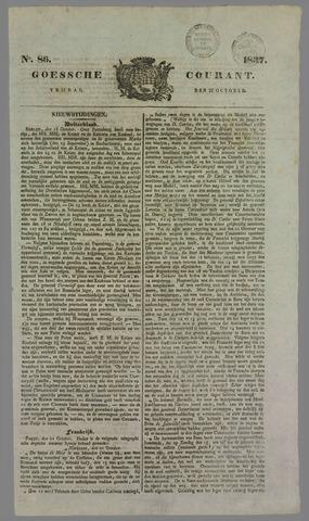 Goessche Courant 1837-10-27