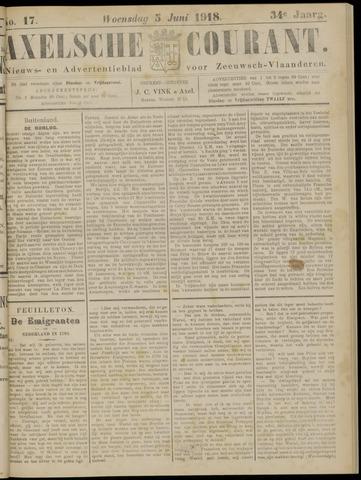 Axelsche Courant 1918-06-05