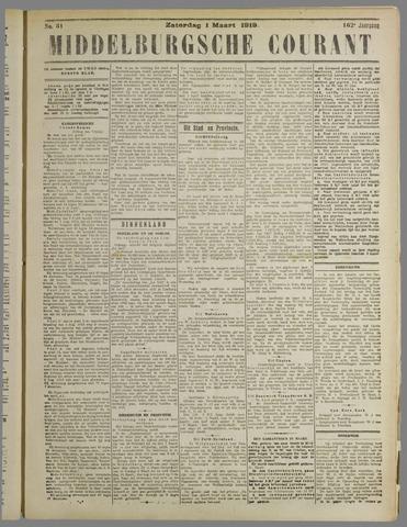 Middelburgsche Courant 1919-03-01