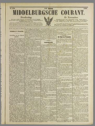 Middelburgsche Courant 1906-11-15