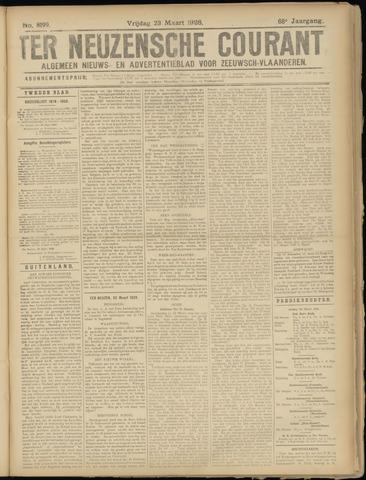 Ter Neuzensche Courant. Algemeen Nieuws- en Advertentieblad voor Zeeuwsch-Vlaanderen / Neuzensche Courant ... (idem) / (Algemeen) nieuws en advertentieblad voor Zeeuwsch-Vlaanderen 1928-03-23