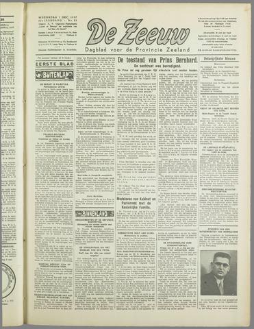 De Zeeuw. Christelijk-historisch nieuwsblad voor Zeeland 1937-12-01