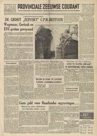 Provinciale Zeeuwse Courant 1958-04-05