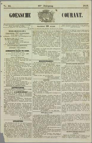 Goessche Courant 1857-07-20